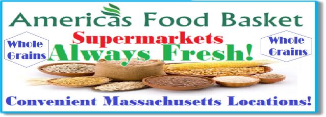 America's Food Basket Supermarkets Massachusetts Locations Whole Grains Organic Food Vegan Food Recipes Vegetarian Recipes Massachusetts locations. [ https://afbmalaunchpad.wordpress.com/ ]