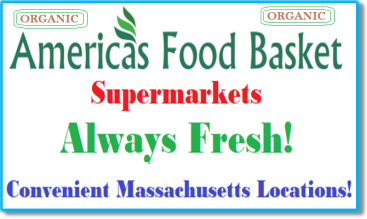 America's Food Basket Supermarkets Massachusetts Locations Organic Food Massachusetts locations. [ https://afbmalaunchpad.wordpress.com/ ]