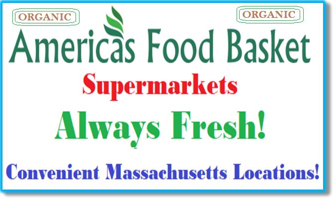 America's Food Basket Supermarkets Massachusetts Locations Organic Food Vegan Food Recipes Vegetarian Recipes Massachusetts locations. [https://afbmalaunchpad.wordpress.com/ ]