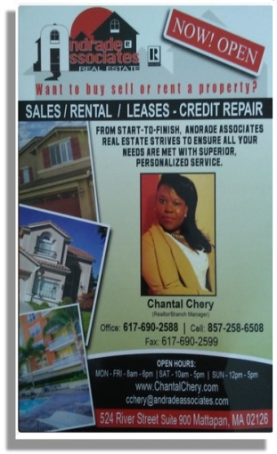 CHANTAL CHERY ANDRADE AND ASSOCIATES REAL ESTATE