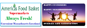 Happy Customers | Happy Neighborhood | Overall Life Satisfaction | BETTER LIFE | LONGEVITY | BETTER LIFE AND LONGEVITY | Superfoods and Their Benefits | Eat Healthy | Positive Energy Yields Positive Results! | Find Success in Life | America's Food Basket Supermarkets | AFB SUPERMARKETS | Convenient Locations in Massachusetts | Quality Food Products | Affordable Prices | Anatomy of a Healthy Plate | Developing Healthy Eating Patterns | Keeping Stress at Bay Naturally | Foods That Can Help Diminish Anxiety | Few Things You Should Always Buy at America's Food Basket | Shoppers love America's Food Basket Supermarkets | Rotisserie Chicken For The Win | Organic Options | Your Family's Health First | Cold Meats | Baked Goods | Produce | Freshness and Reliability | International Foods | Massachusetts locations International Foods | Cheers to Great Taste, Health, and savings! | [https://afbmalaunchpad.com/ ]