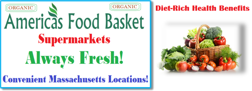 America's Food Basket Supermarkets | Massachusetts Locations | Why is it important to eat vegetables? | Nutrient Benefits | Diet-Rich Health benefits | Whole Grains | Organic Food | Vegan Food Recipes | Vegetarian Recipes | Few Things You Should Always Buy at America's Food Basket | Shoppers love America's Food Basket Supermarkets | Rotisserie Chicken For The Win | Organic Options | Your Family's Health First | Cold Meats | Baked Goods | Produce | Freshness and Reliability | International Foods | Massachusetts locations International Foods | Cheers to Great Taste, Health, and savings! | [WEBSITE ]