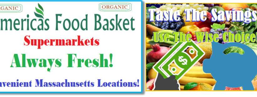 America's Food Basket Supermarkets | Massachusetts Locations | Taste The Savings! | Use The Wise Choice | Garden-Fresh ! | Gourmet | Essential Recipe | Maintain a Healthy BMI | Avoid Obesity | My Healthy Plate | What's On Your Plate? | Shop Smart! | Plan. Shop. And Save! | Why is it important to eat vegetables? | Nutrient Benefits | Diet-Rich Health benefits | Whole Grains | Organic Food | Vegan Food Recipes | Vegetarian Recipes | Few Things You Should Always Buy at America's Food Basket | Shoppers love America's Food Basket Supermarkets | Rotisserie Chicken For The Win | Organic Options | Your Family's Health First | Cold Meats | Baked Goods | Produce | Freshness and Reliability | International Foods | Massachusetts locations International Foods | Cheers to Great Taste, Health, and savings! | [https://afbmalaunchpad.com/ ]