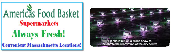 Afb Supermarkets IoT Drone Show | America's Food Basket Supermarkets Drone Show |